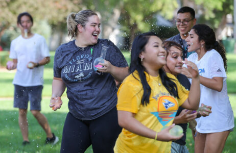 PHOTOS: Multicultural Greek Council water balloon fight