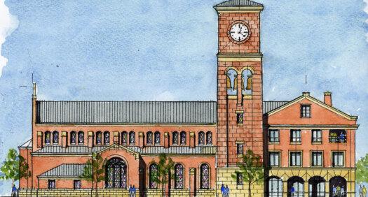 Catholic Newman Center unveils plan for permanent facility at University Village
